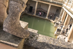 The main Pool (kellyhackney1) Tags: themainpool bath roman baths romanbaths piccy pool statues foot