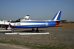 Sabre  235 (TF102A) Tags: aviation aircraft greekairforce tanagra sabre