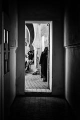 ACROSS (Florence Bonnin) Tags: bw individus photoslasauvette candid contraste contrejour fuji lumire maroc marrakech morocco motion rue street