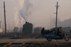 I_B_IMG_8783 (florian_grupp) Tags: asia china steam train railway railroad fuxin liaoning sy coal mine 282 mikado steamlocomotive locomotive