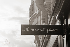 Le moment prsent ([ Beln Garca ]) Tags: paris monocromtico tonned virado bw city monocromatic bn