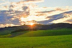 End of the Day (Gadgetman@Nikon) Tags: elements meechin landscape sunset serene sunrays farmland farm newzealand clouds cloudsstormssunsetssunrises nikond3300 new