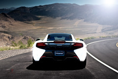 Prepare for Takeoff (Folk|Photography) Tags: road light white rear mclaren valley flare curve taillights worldcars mp412c