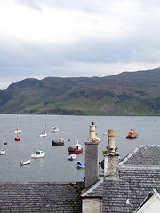 Portree (veronica_b) Tags: boats scotland tetti barche roofs portree chimneys comignoli scozia isoladiskye