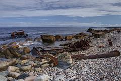S.S. Ethie, 1919 Shipwreck (gwhiteway) Tags: ocean travel canada tourism nature newfoundland boat ship atlantic trail shipwreck nl wreck northern viking peninsula ssethie canon7d tamron18270
