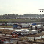 Infield pit area