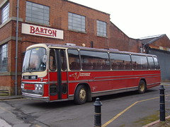 Barton 1235 outside barton HQ depot (old barton coaches) Tags: nottingham bus coach barton chilwell bartontransport nottinghamheritagevehicles