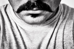 328/365. Series Anatomy: The Moustache. (Anant N S) Tags: portrait blackandwhite bw india selfportrait self photography blackwhite lips portraiture anatomy series facialhair 1855 mustache pune indianman indianmen project365 indianmustache lensor anantns thelensor anantnathsharma humanbodymustache