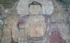 Buddha of Medicine Bhaishajyaguru, detail with Buddha