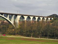 DSCN0073 (Marcel Musil) Tags: republic czech railway viaduct viaduc ferrocarril viaducto ferroviario viadukt eisenbahnviadukt kutiny viadotto wiadukt ferroviaire kolejowy eleznin