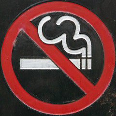 No smoking (Leo Reynolds) Tags: sign canon eos 7d squaredcircle f80 iso1250 signsafety signno 0006sec 117mm hpexif signnosmoking signcirclebar xleol30x sqset084