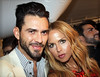 Lirenzo Martone and Rachel Zoe Marc Jacobs at Mercedes-Benz New York Fashion Week Spring/Summer 2013