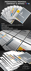 Proposal, Contract and Invoice (Andrea Balzano) Tags: modern photoshop project logo layout marketing support all graphic signature  plan philosophy professional business pack commercial rights experience timeline service form contact contract proposal client template reserved packages overview acceptance invoice indesign payment agreement completition andre28