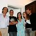 Rui, Pedro, Cristina, Michelle e Roy