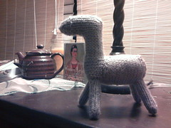 2012-09-15 22.09.33 (L-C-R) Tags: knitting donkey wip sep 2012 knitivity