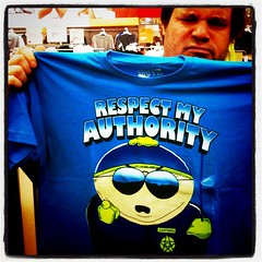 """Respect My Authority"" Cartman T-Shi..."