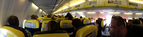 Inside a Ryanair plane by Anna & Michal, on Flickr
