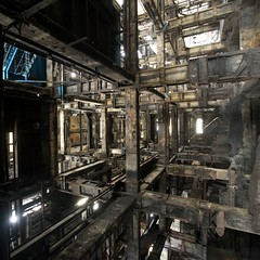Abandoned Coal Washing Plant - France. (Romany WG) Tags: plant france architecture industrial decay steel dirty coal derelict washing urbex