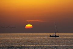 (Rawlways) Tags: sunset boat ibiza sail