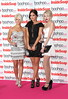 Danielle Harold, Jacqueline Jossa and Hetti Bywater - The Inside Soap Awards 2012 held at One Marylebone London, England