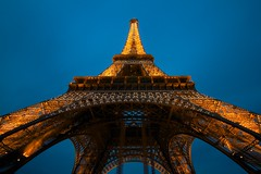 Paris (Stephen Walford Photography) Tags: city travel light sky paris france building tower metal architecture canon europe exposure dusk capital champs sigma eiffel 7d 1020mm