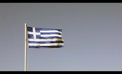 Greek Flag (chriskolos) Tags: sea beach port boats greek flag greece griechenland rodos rhodes rhodos