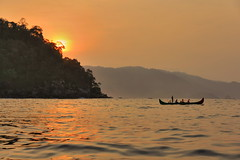 Sunrise at Kiluan Bay
