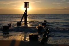 Lowestoft beach sunrise studies (Kirkleyjohn) Tags: shadow beach silhouette sunrise dawn suffolk sand earlymorning sands lowestoft