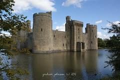 Bodiam castle(EXPLORED) (gmj49) Tags: water sussex sony east bodiamcastle gmj a350