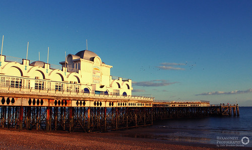 South Parade Pier Sunset