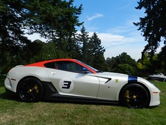 ferrari 599 gto (rgibbsphotography) Tags: blue red white canada black cars vancouver garden botanical bc weekend wheels columbia ferrari exotic gloss british gto rims limited edition luxury rare supercar 2012 exotics supercars v12 vandusen 599