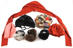 1049. Group of Winter Hats and Earmuffs