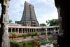 a view from potramarai kulam, madurai (VIVEKANAND-S) Tags: india temple nikkor madurai kulam meenakshi nikond80 18200edvr potramarai