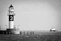 Lighthouse 3 #7736 (Sascha Neuroth) Tags: lighthouse 3 boot see canal ship kanal schiff ost elbe nord leuchtturm einfahrt brunsbüttel canon550d tamronspaf70300f456divcusd