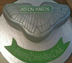 Astin Martin Birthday Cake