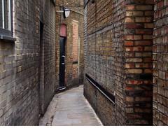 ad hoc brickwork (JudyGr) Tags: london vanishingpoint alley bricks patchwork guesswherelondon londonguessed gwl guessedbyjansos