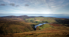 isle of man in autumn colours (mariusz kluzniak) Tags: uk autumn lake man west clouds landscape coast highlands europe colours view britain sony sigma mann alpha 1020mm isle greet manx 580 a580