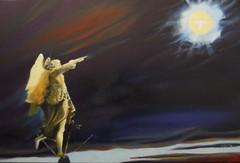 Angelo del castello - olio su tela - cm 40x60