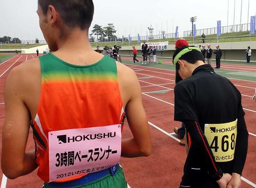 20121007いわて北上マラソン〜3時間ペースランナー
