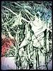 Nymph (hookykate) Tags: art illustration ink artwork poetry goddess drawings whimsical artworks mythic poetryandpicturesinternational