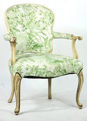 29. Vintage French Fauteuil Chair