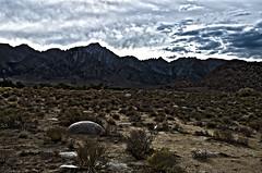 Sundown Mt Whitney Portal (rschnaible) Tags: california county ca usa mountains southwest landscape us mt desert whitney sierranevada eastern moutain hdr inyo