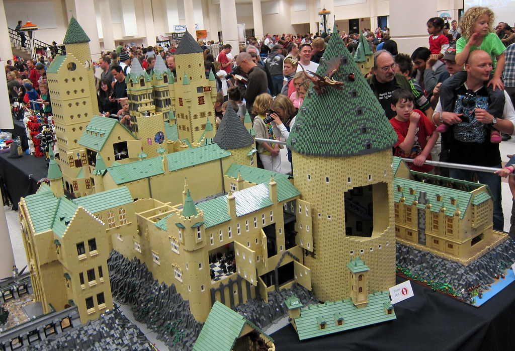 Harry Potter : Hogwarts School Of Witchcraft And Wizardry (wiredforlego)  Tags: Seattle Washington