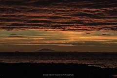 Blood red sunset. (Kjartan Gumundur) Tags: iceland sunset garur glacier ocean sky canon canoneos5dmarkiii canonef100400mmf4556lisiiusm kjartangumundur ngc