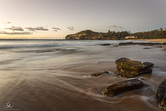 Warriewood (Seany99) Tags: warriewood sunrise rocks waves flow beach sydneysnorthernbeaches nsw australia