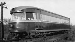 "Brand new P&W ""Bullet"" 1932 (jsmatlak) Tags: philadelphiawestern septa norristown line brill bullet strafford electric railway interurban trolley tram"