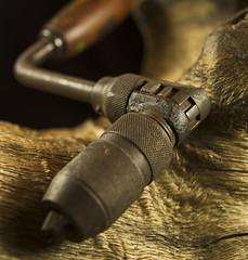 Grandpa (CJungman) Tags: 7d canon 2470 oldtools still drill tools handdrill