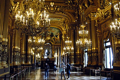 Golden Hall (EmperorNorton47) Tags: operagarnier paris iledefrance france photo digital autumn fall gold hall promenade tourists