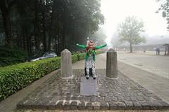 Wankel evenwicht.  Tom valt van het hoogste punt van Nederland. (rubentijdlijn) Tags: og