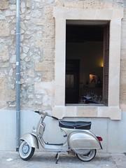 Mallorca, Spain (tobysligo) Tags: mallorca spain vespa cafe majorca street streetphotography colour color scooter